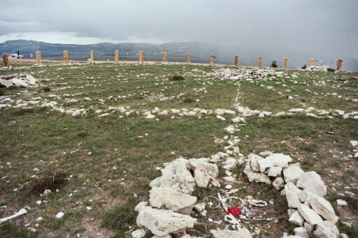 Medicine Wheel Big Horn Mountains Wyoming.