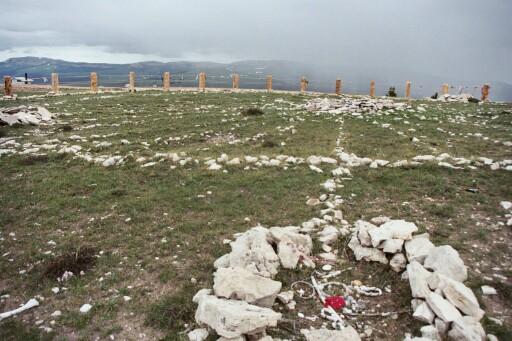 Medicine Wheel Big Horn Mountains Wyoming.