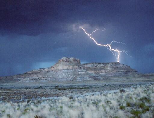 Sun Dagger Mesa Chacho Canyon