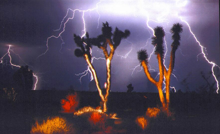 Many Lightning Bolts, Littlefield Az