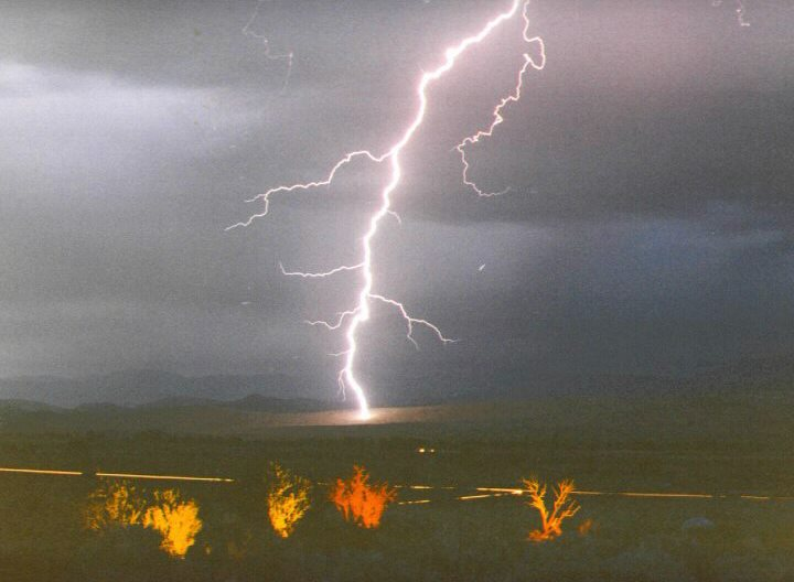 Lightningbolt near Hwy. 88