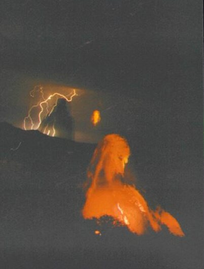 This red spirit appeared on it's own (paranormal)