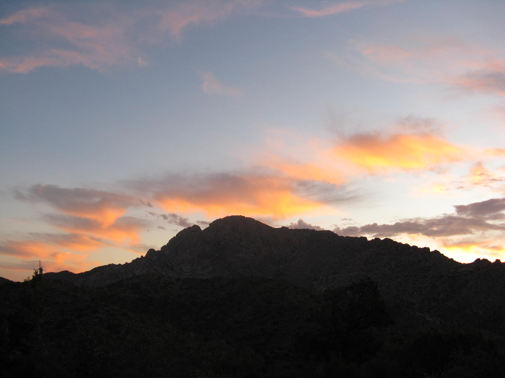 Sunrise at Spirit Mountain