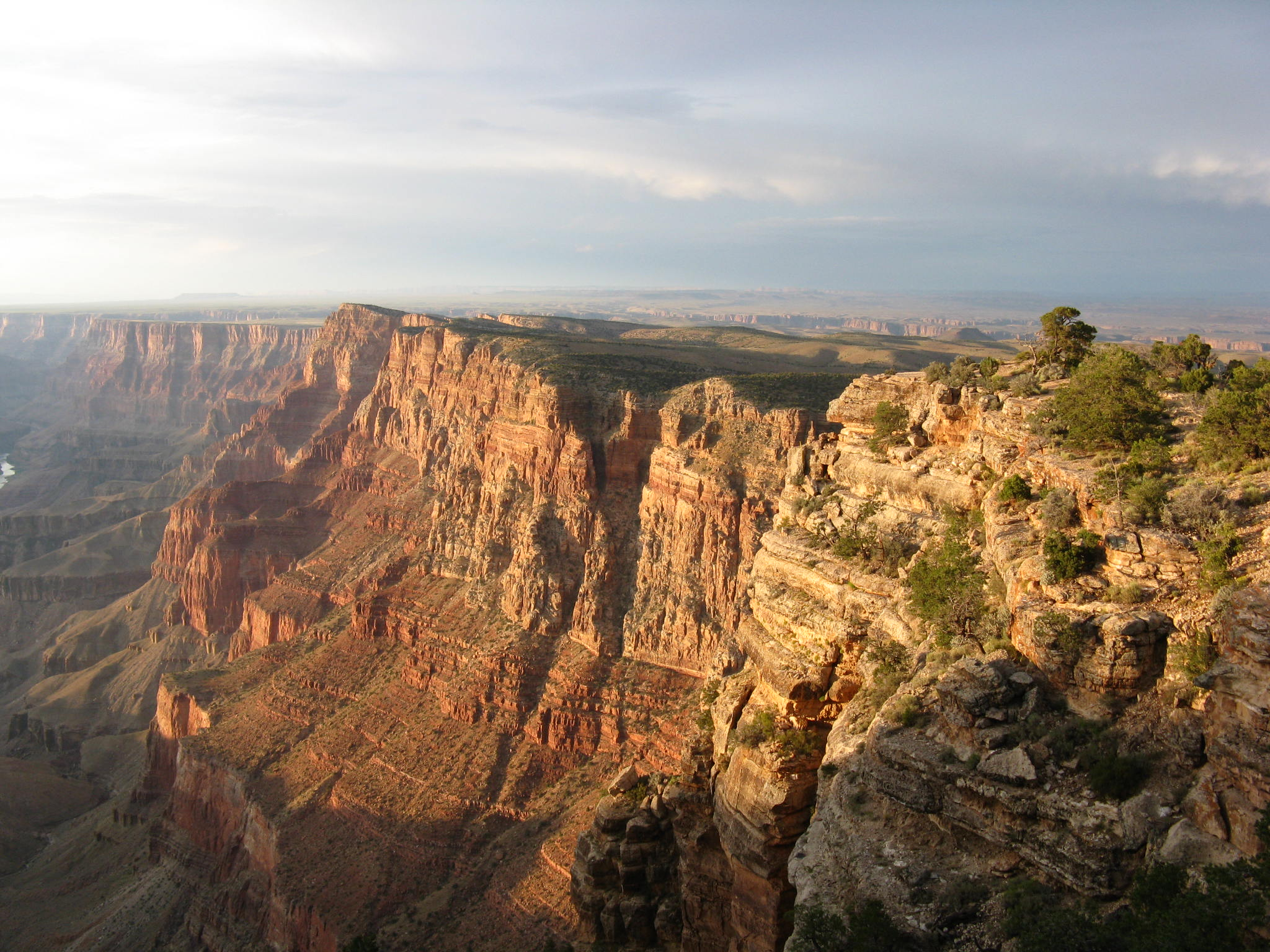 Sunset on the East Rim Grand Canyon AZ