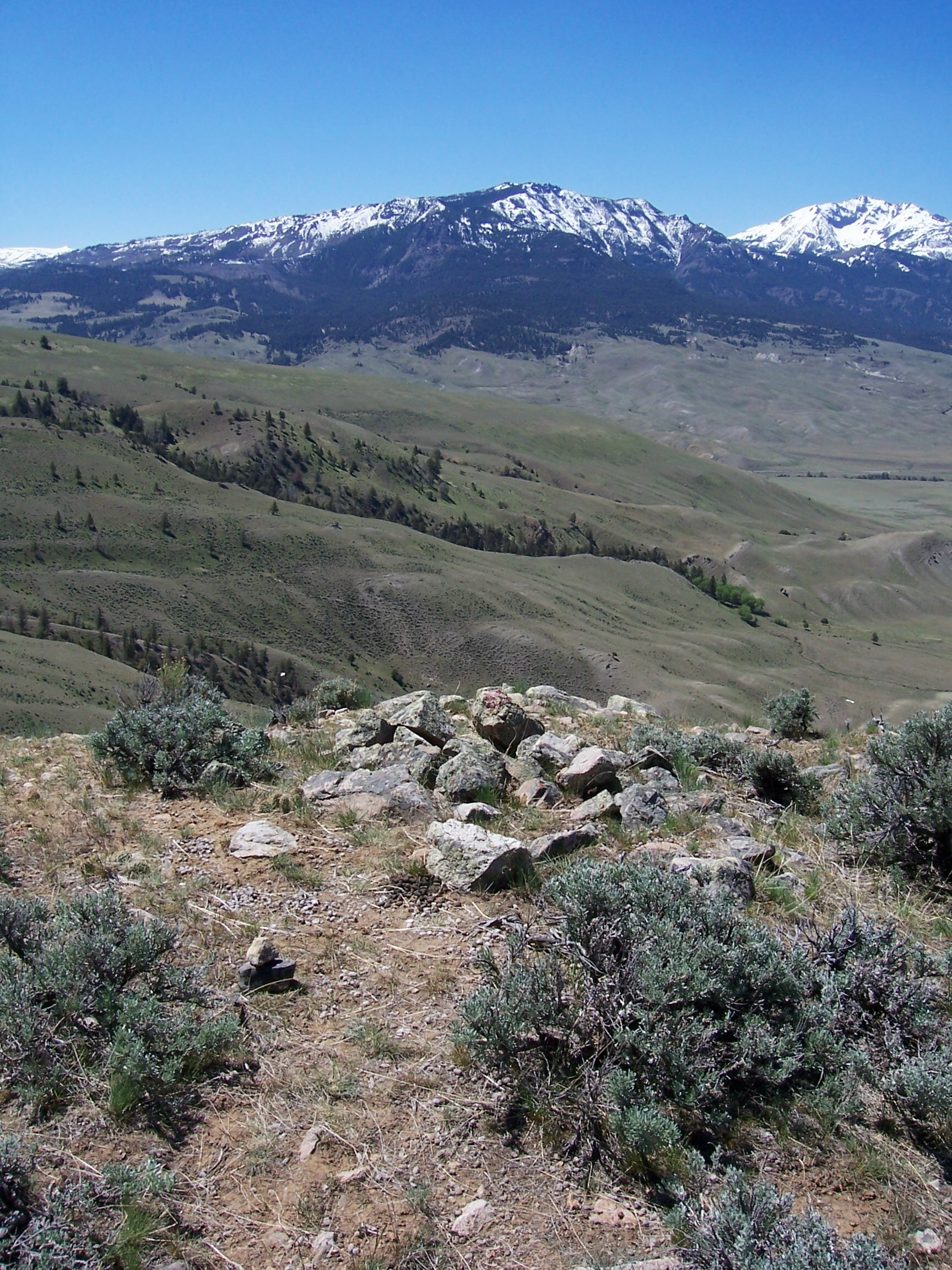 View from Rattlesnake Butte looking west.