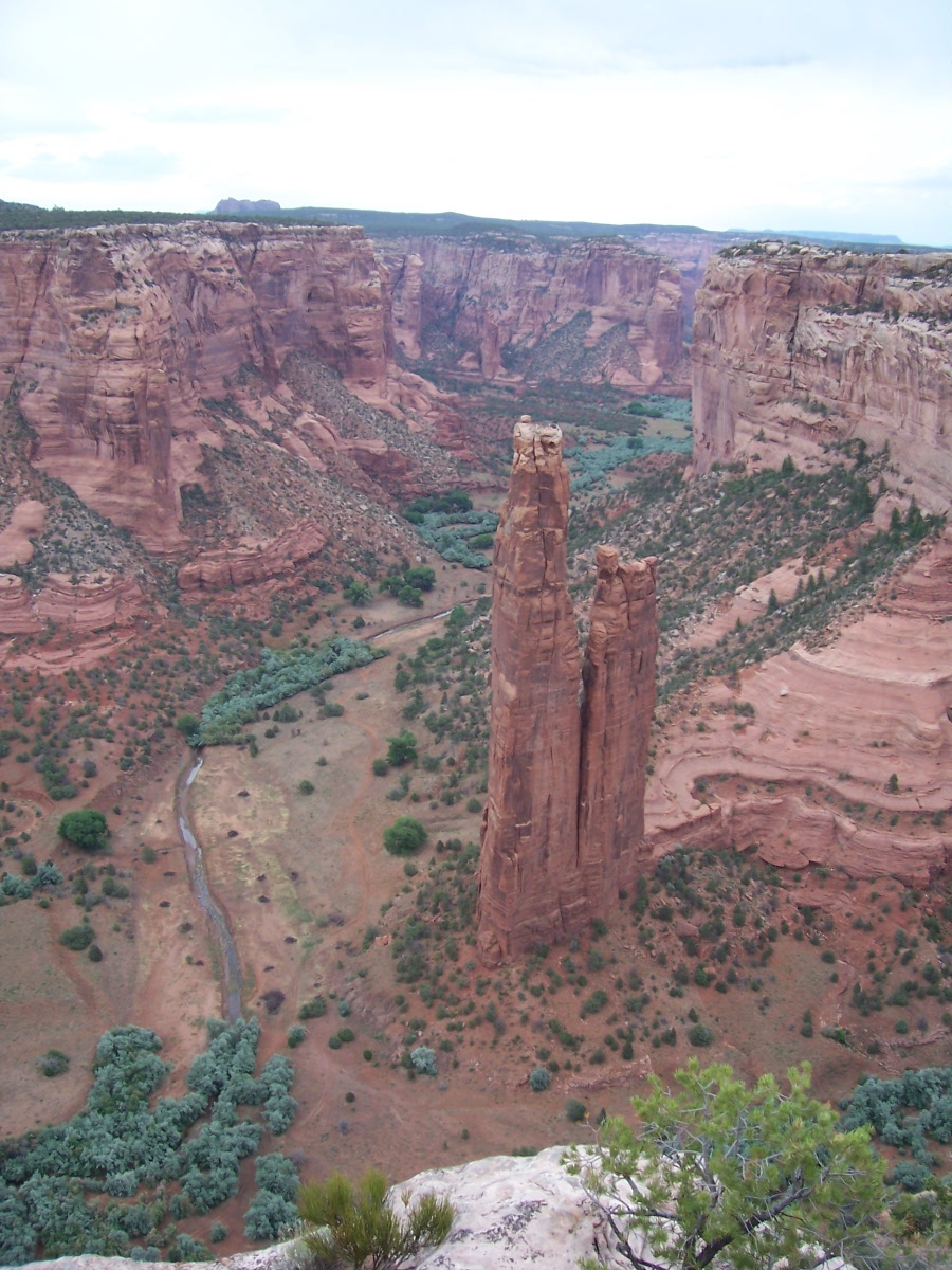 Spider Rock, Canyon Dechelly, AZ.