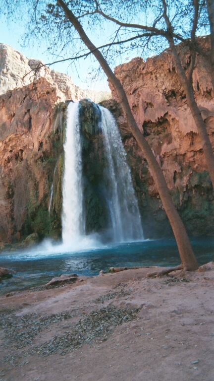 Havasupi Reservation Water Falls