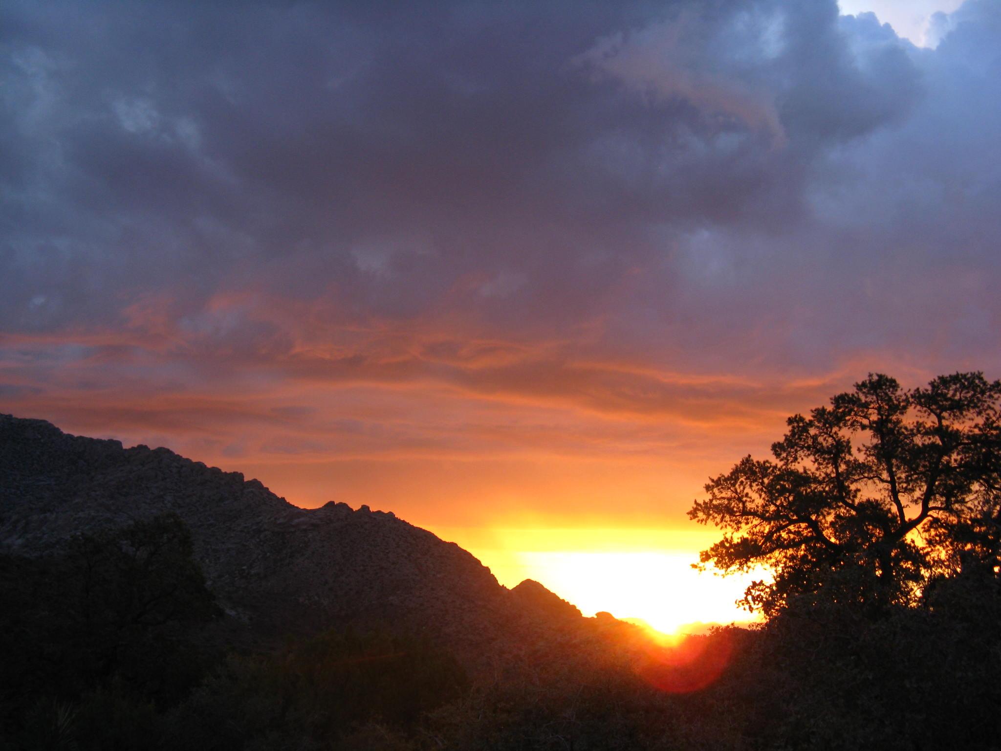Sunrise At My Camp